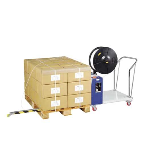 Semi-automatic Vertical Pallet Strapping Machine TP502MV